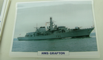 HMS Grafton 1992 guided missile frigate warship framed picture (8) (17) (18)